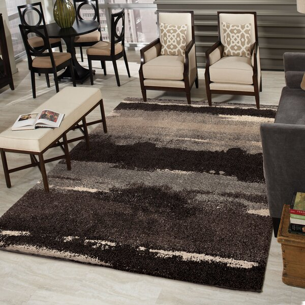Cabell Black Area Rug by The Conestoga Trading Co.