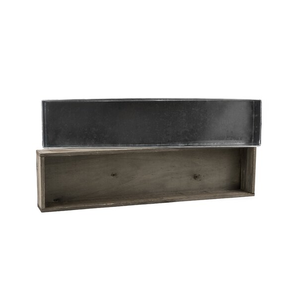 Carswell Wood Planter Box by Union Rustic