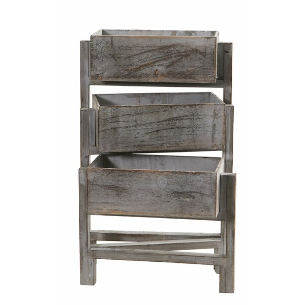 Newby Washed Composite Wood Vertical Garden Planter by Gracie Oaks