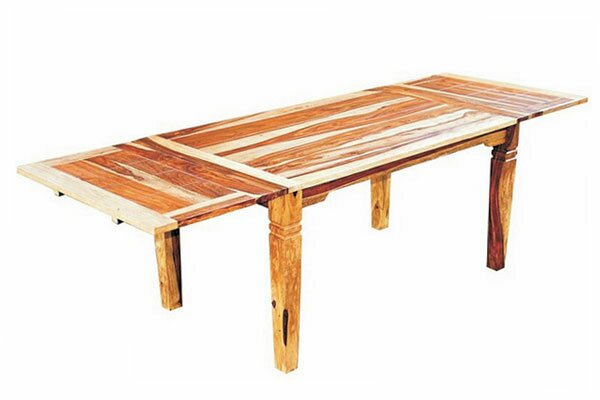 Reaves Extendable Solid Wood Dining Table by Loon Peak