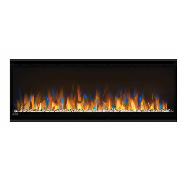 Alluravision Recessed Wall Mounted Electric Fireplace by Napoleon Napoleon