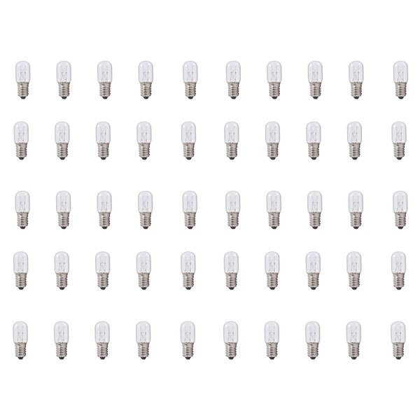 E14 Dimmable Incandescent Light Bulb (Set of 50) by Bulbrite Industries
