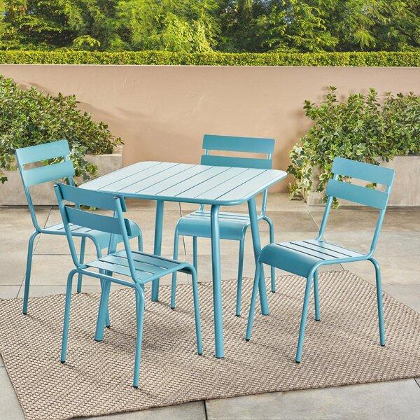 Nader 5 Piece Dining Set by Ebern Designs