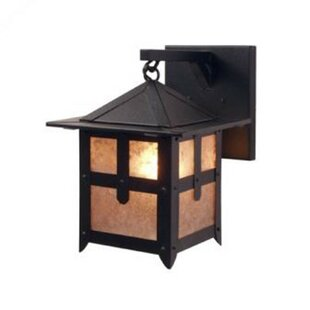 Affordable Price Hillcrest 1-Light Outdoor Wall Lantern By Steel Partners