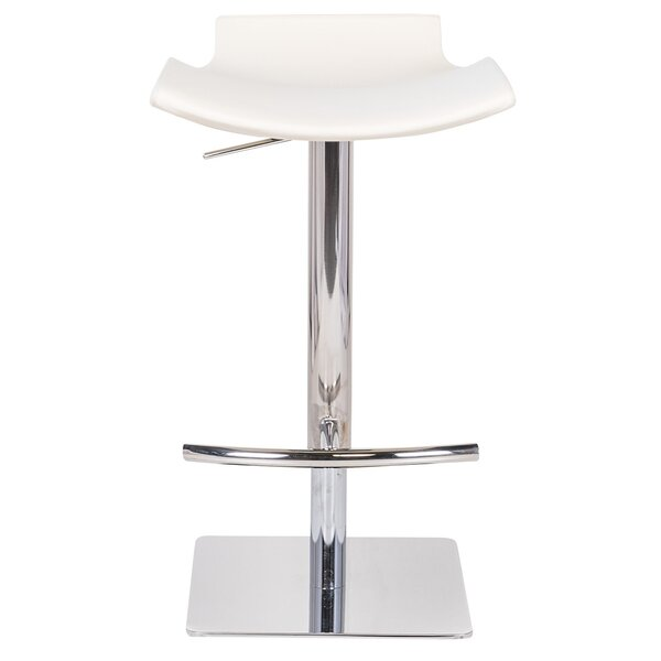 Raven Adjustable Height Bar Stool by Joseph Allen