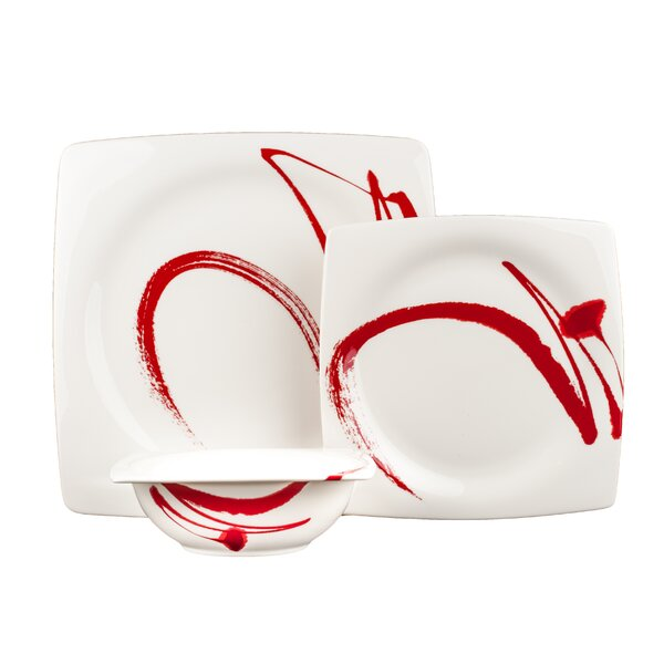 Paint It 18 Piece Dinnerware Set, Service for 6 by Red Vanilla