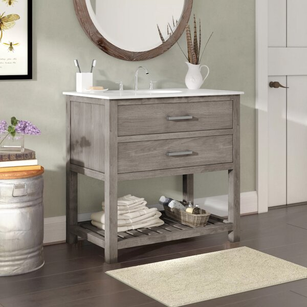 Hettinger 36 Single Bathroom Vanity Set by Laurel Foundry Modern Farmhouse