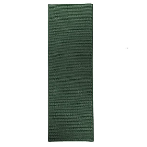 Annika Hand-Braided Green Indoor/Outdoor Area Rug by Charlton Home