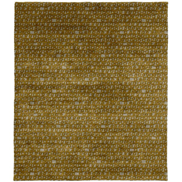 One-of-a-Kind Jessamine Hand-Knotted Traditional Style Brown 6' x 9' Wool Area Rug