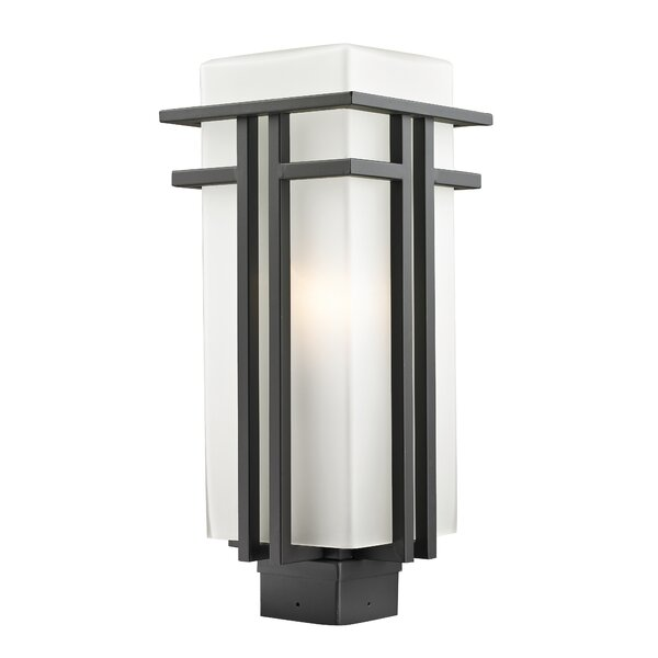 Weitzel Outdoor 1-Light Lantern Head by Winston Porter