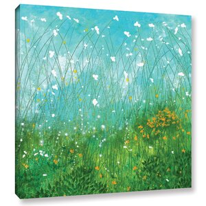 By The Lake Painting Print on Wrapped Canvas by Andover Mills