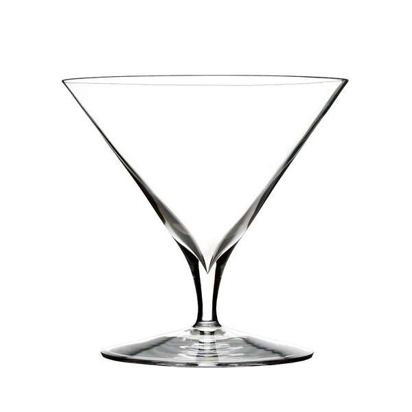 Elegance Martini Crystal Cocktail Glass (Set of 2)