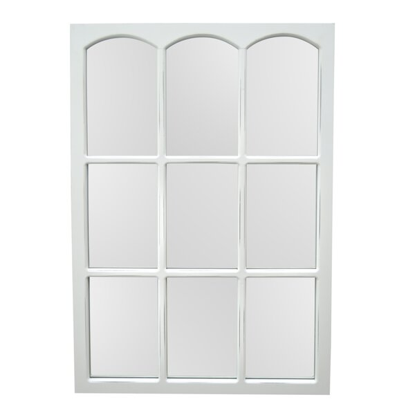 Cason Wood Accent Mirror by Highland Dunes