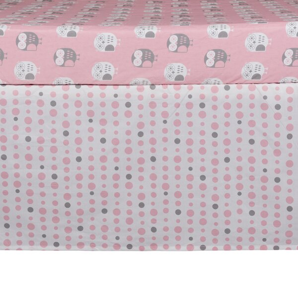 Lolli Mod Dots Crib Skirt by Lolli Living