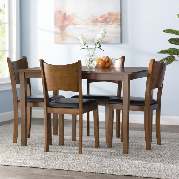 Driscoll 5 Piece Dining Set by Red Barrel Studio