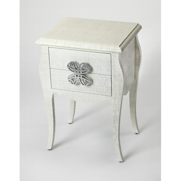 Smallwood End Table With Storage By One Allium Way