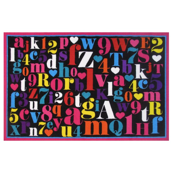 Fun Time Alphabet Area Rug by Fun Rugs
