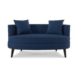 Hubbell 30 Square Arms Settee by Wrought Studio™