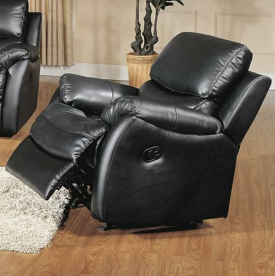 Brett Leather Manual Rocker Recliner by Wildon Home ®