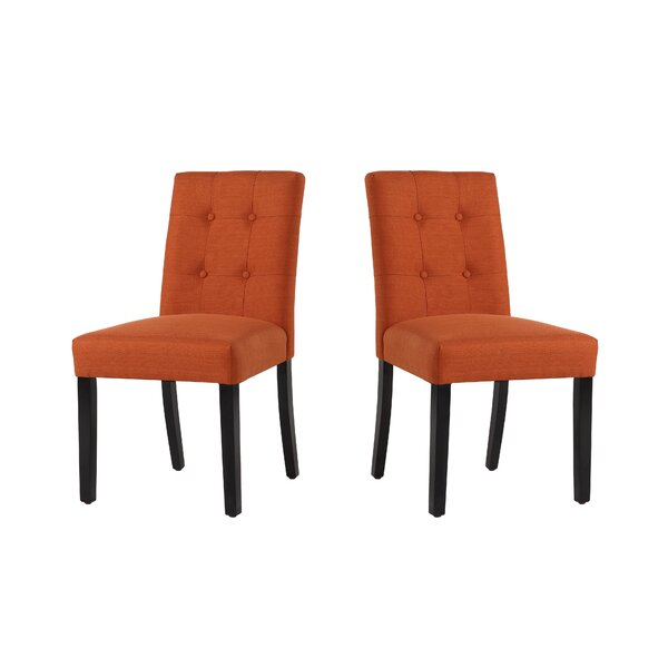 Marie-Anne Upholstered Dining Chair (Set of 2) by Red Barrel Studio