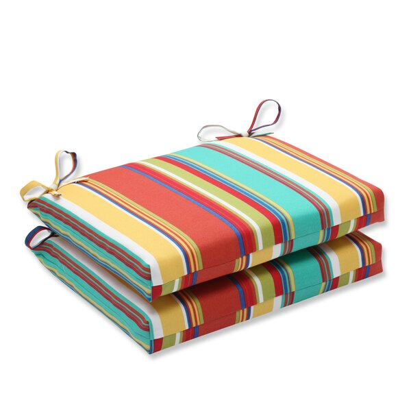 Westport Indoor/Outdoor Bench Cushion (Set of 2) by Pillow Perfect