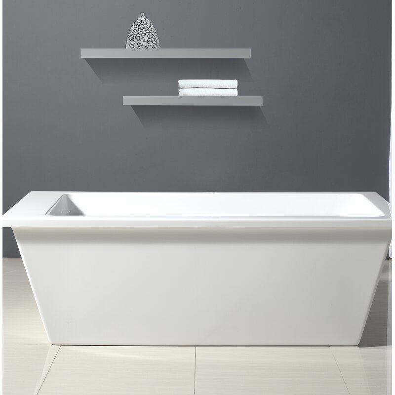 ove decors houston 69 x 31 bathtub & reviews | wayfair