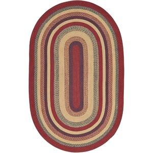 Pheobe Red/Brown Area Rug