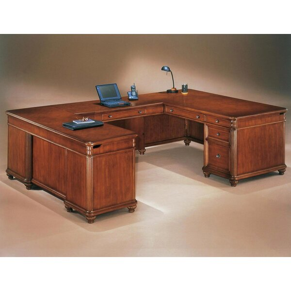 Buckeye U-Shape Executive Desk by Red Barrel Studio