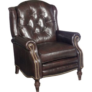Victoria Leather Recliner by Bradington-Young
