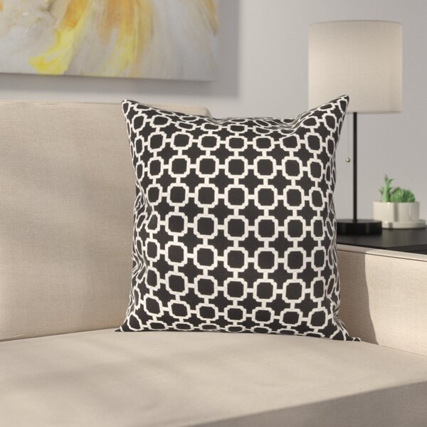 Burville Indoor/Outdoor Polyester Throw Pillow by Latitude Run