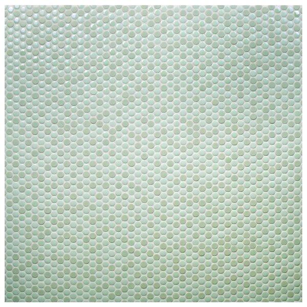 Tucana 0.59 x 0.59 Porcelain Mosaic Tile in Mint by EliteTile
