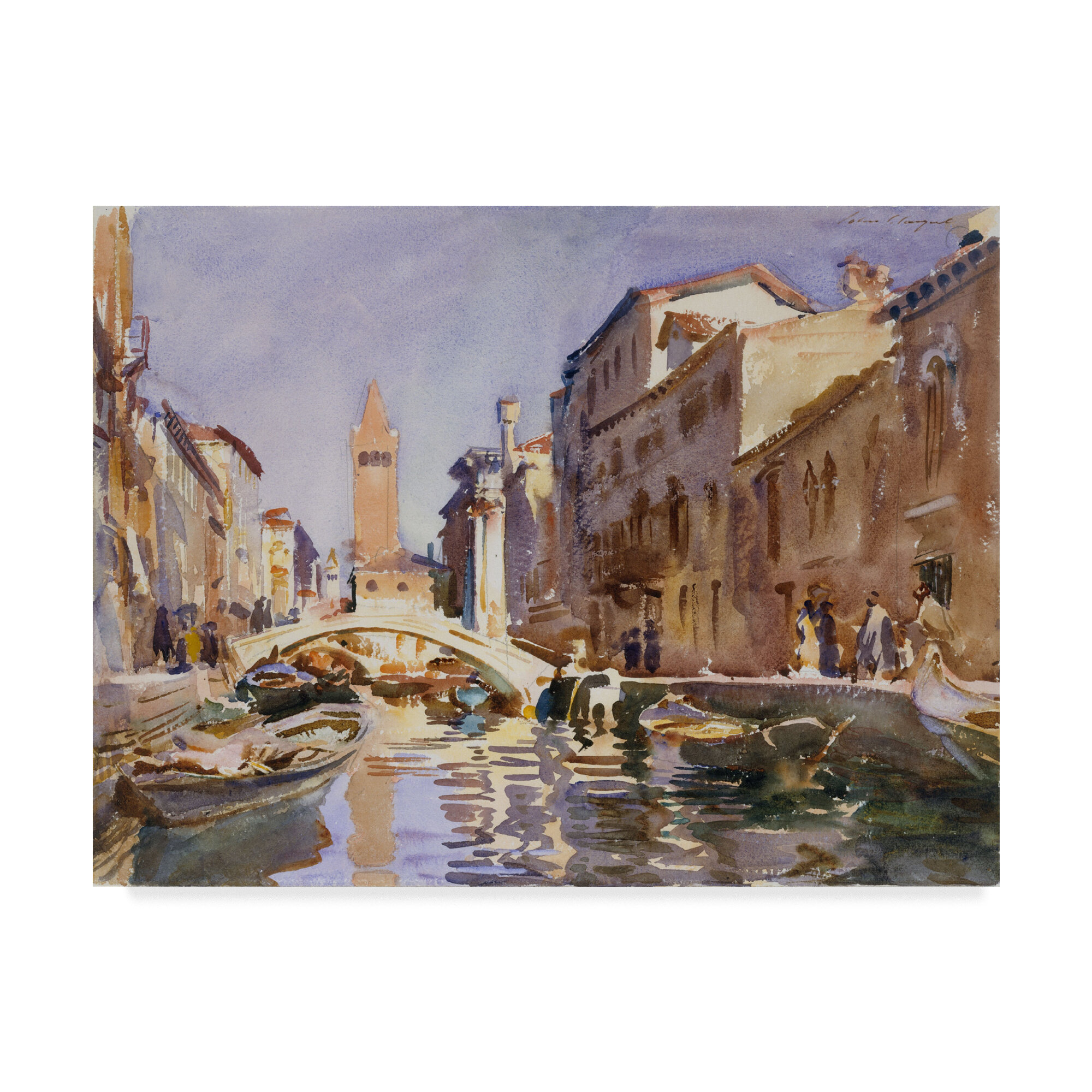 Best gift Venice Sea View ship Print Oil painting Art wall Decor Picture canvas