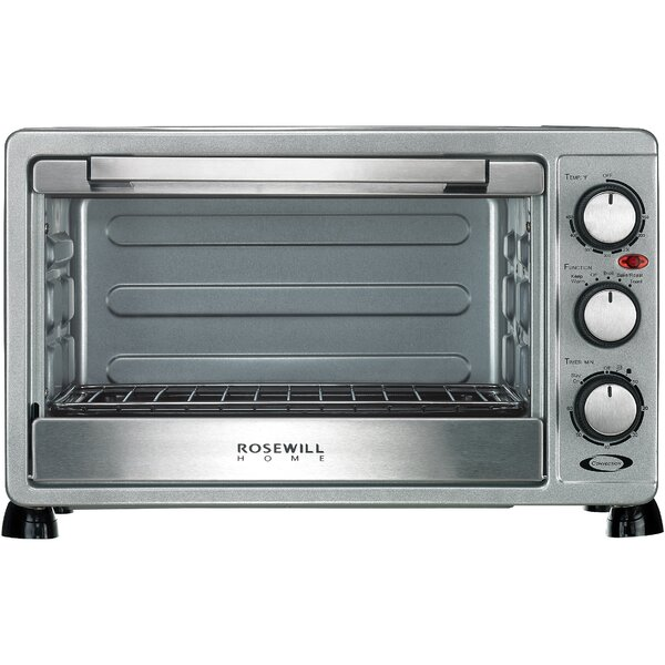 6 Slice Toaster Oven Broiler with Drip Pan by Rosewill