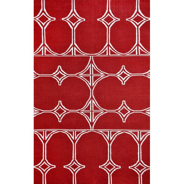Fitchburg Red Indoor/Outdoor Area Rug by Ivy Bronx