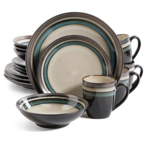 Atlanta 16 Piece Dinnerware Set, Service for 4 by Red Barrel Studio