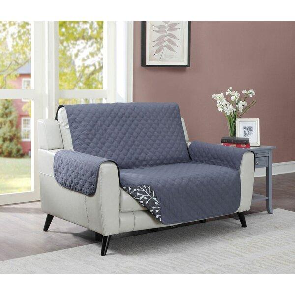 Box Cushion Loveseat Slipcover By Ebern Designs