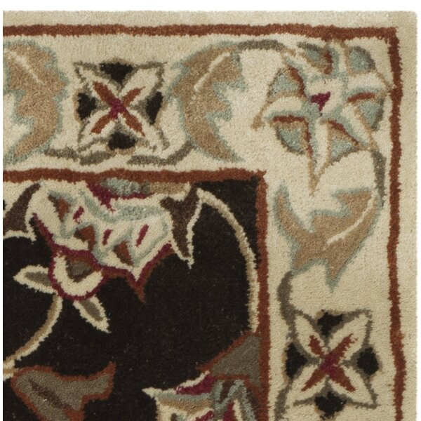 Arnault Hand-Made Brown/Beige Area Rug by Darby Home Co