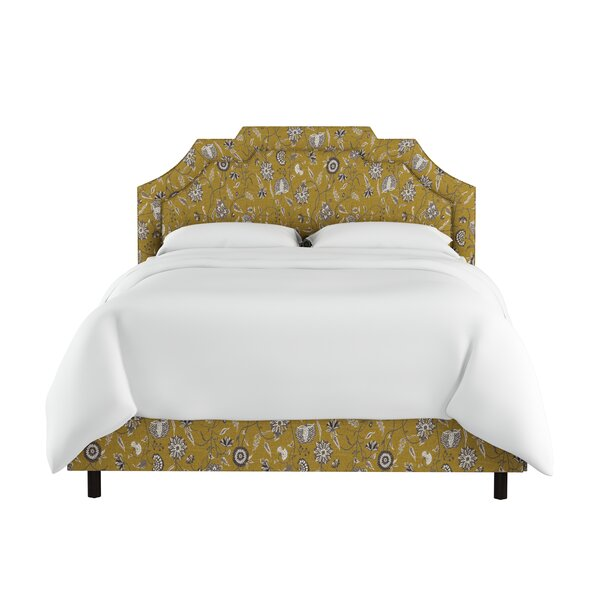 Edmondson Linen Upholstered Standard Bed By Darby Home Co