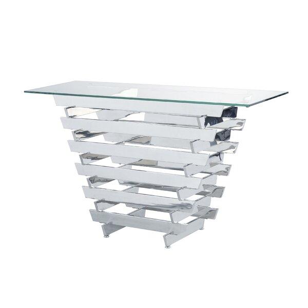 Sayles Modern Living Room Console Table By Orren Ellis