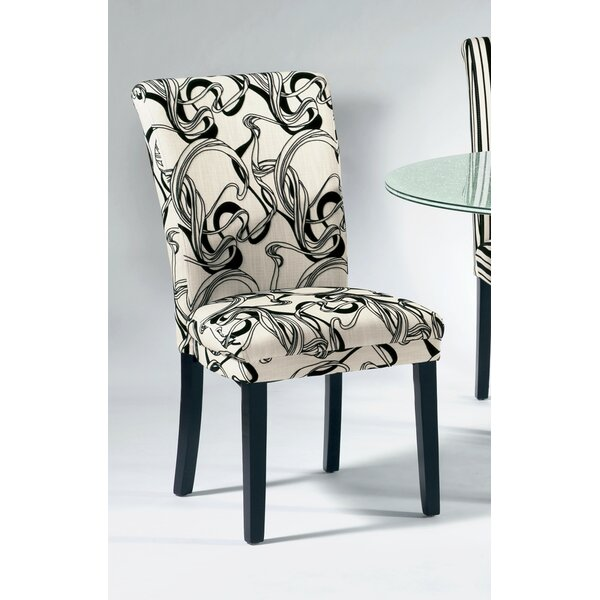 Modern Misty Parson Chair (Set Of 2) By Chintaly Imports Wonderful