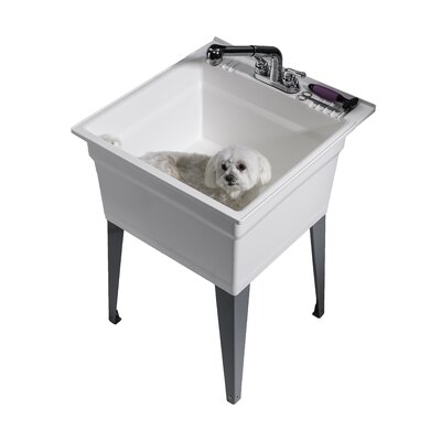 handle product sink two faucet kitchen laundry delta