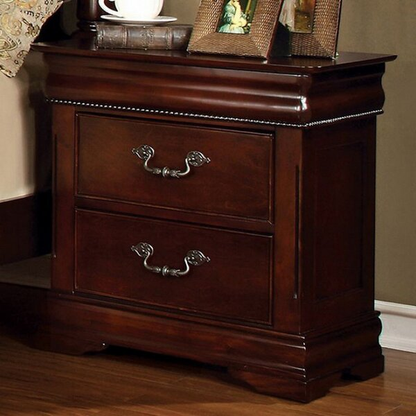 Darnell 2 Drawer Nightstand by Astoria Grand