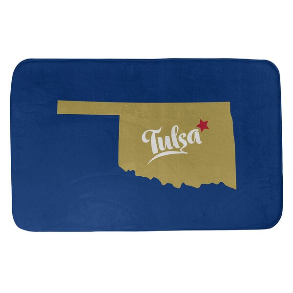 Oklahoma Sports Colors Bath Rug