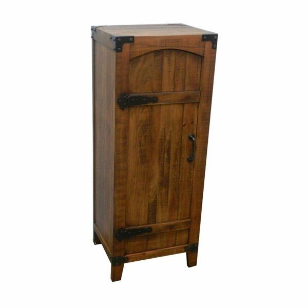 Ethan Antique 1 Door Accent Cabinet by Loon Peak