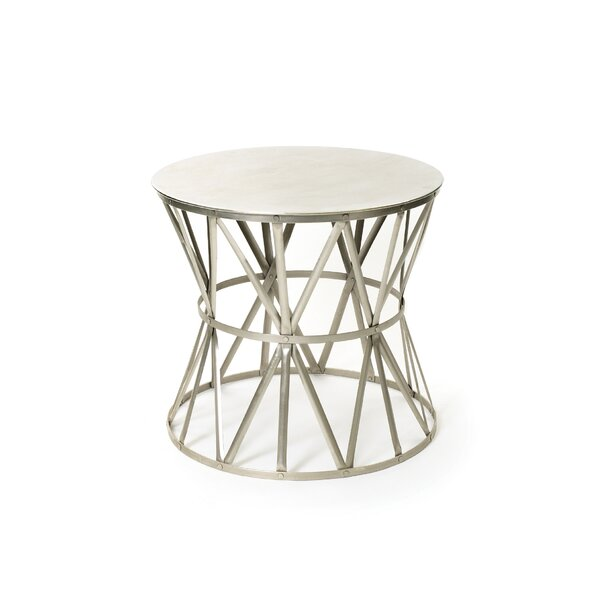 Holliston Angle End Table by 17 Stories