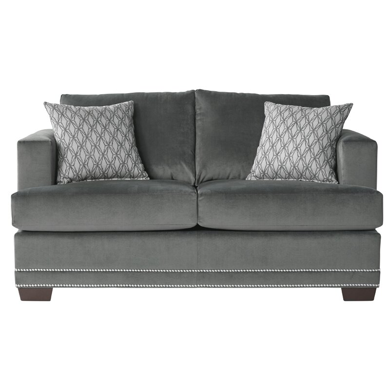 Heslin Loveseat By Charlton Home Top Sofas