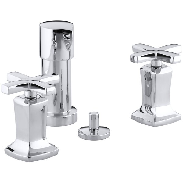 Margaux Vertical Spray Bidet Faucet with Cross Handles by Kohler