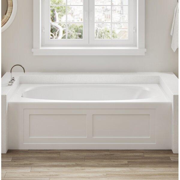 Amiga 72 x 36 Skirted Soaking Bathtub by Jacuzzi®