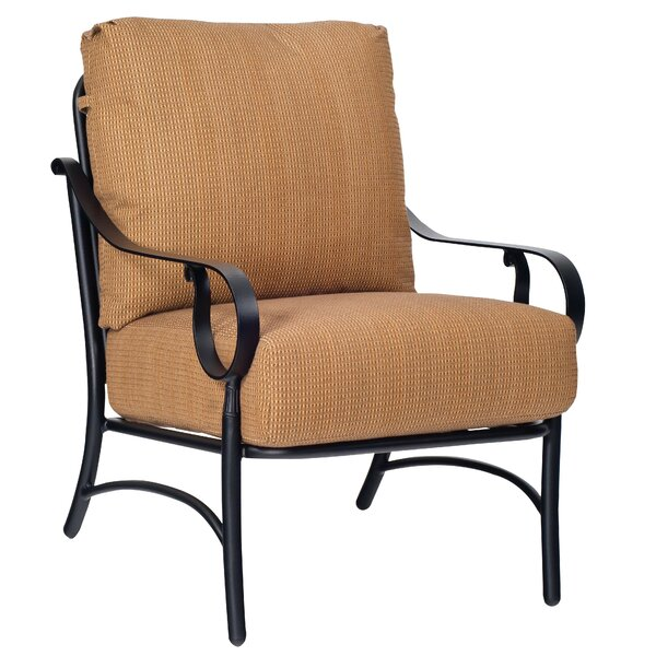 Ridgecrest Patio Chair with Cushions by Woodard