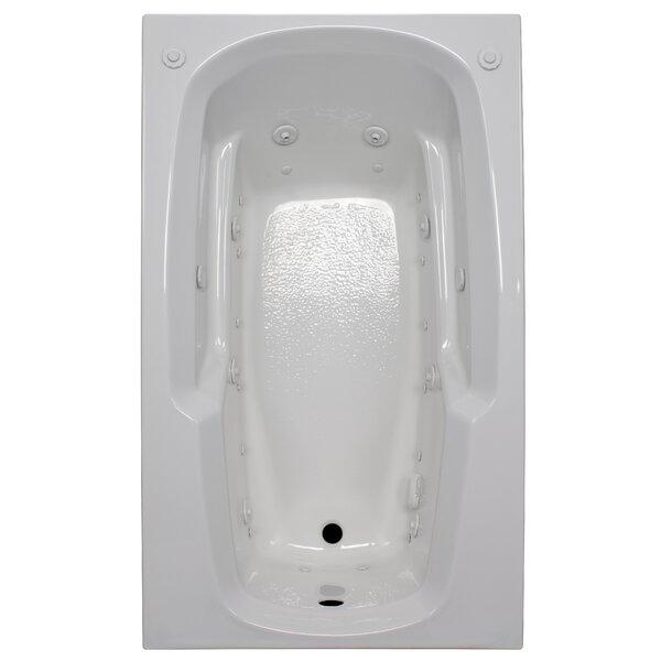 60 x 36 Arm-Rest Salon Spa Air/Whirlpool Tub by American Acrylic